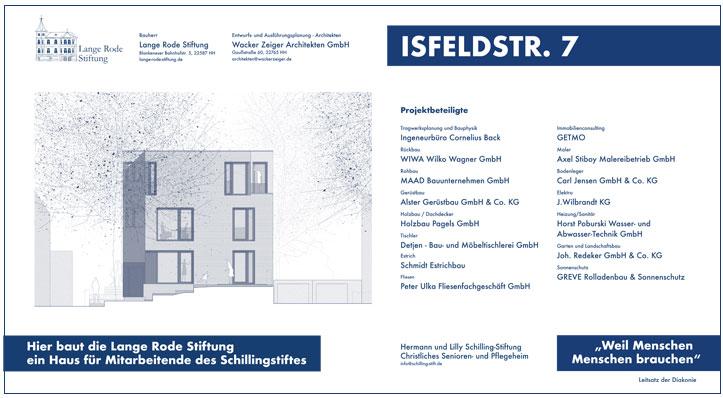 Bauprojekt Isfeldstraße 7 als PDF Download